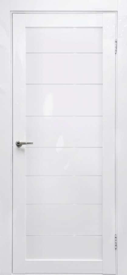 дверь FORET белый глянец глухая